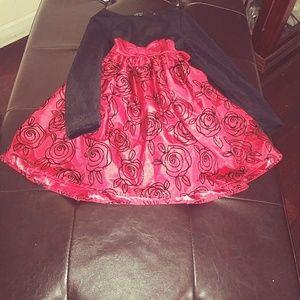 Girls Velvet Dress